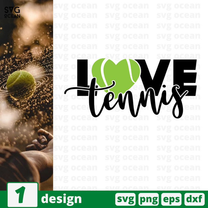 Love tennis SVG vector bundle - Svg Ocean