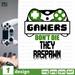 Gamers Don't Die They Raspawn SVG vector bundle - Svg Ocean