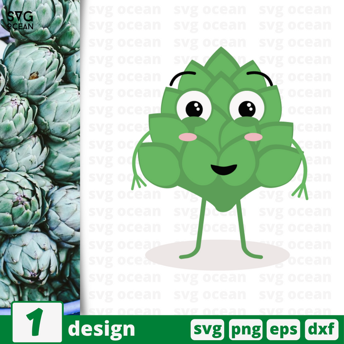 Artichoke SVG vector bundle - Svg Ocean