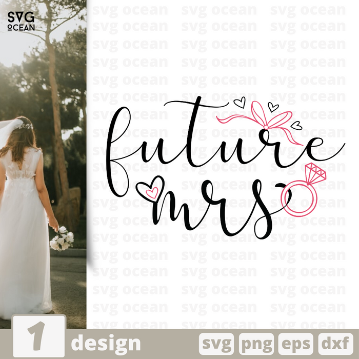 Free Future mrs quote SVG printable cut file Future mrs - Svg Ocean