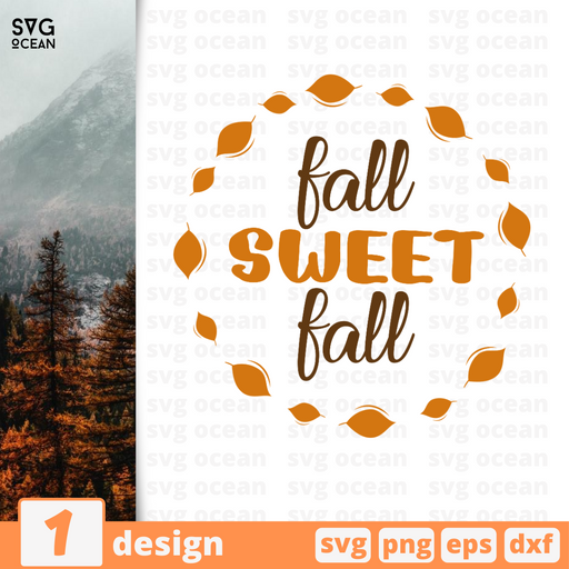 Fall sweet fall SVG vector bundle - Svg Ocean