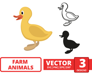Duckling SVG vector bundle - Svg Ocean