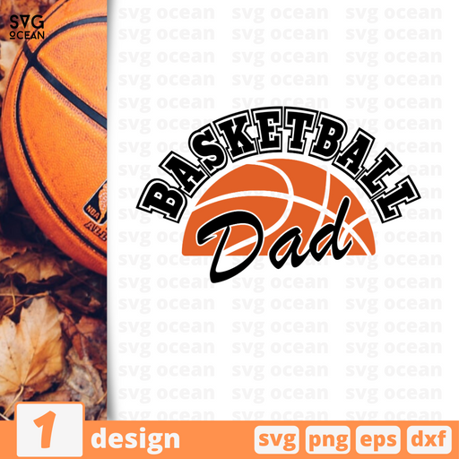Basketball dad SVG vector bundle - Svg Ocean