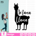 Mama Llama SVG vector bundle - Svg Ocean