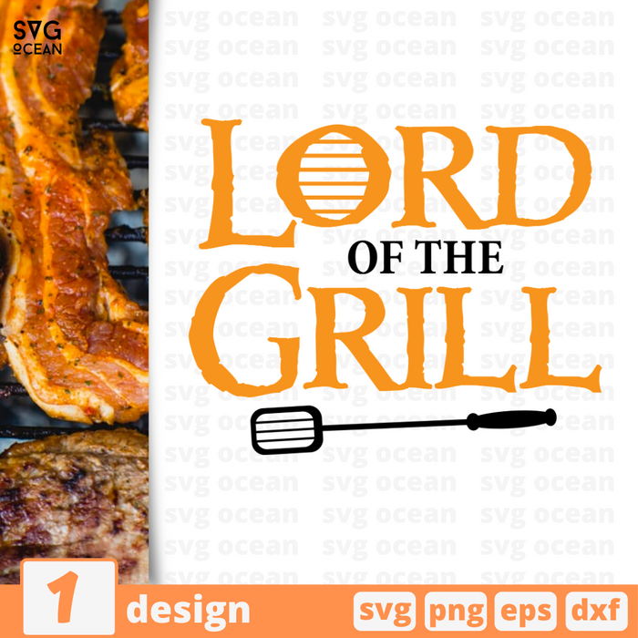 Lord of the Grill SVG vector bundle - Svg Ocean
