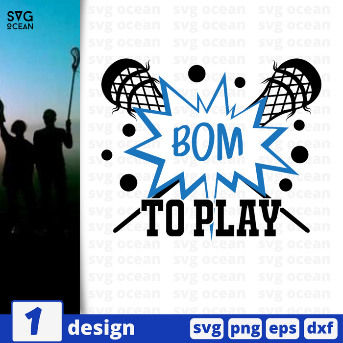Bom to play SVG vector bundle - Svg Ocean