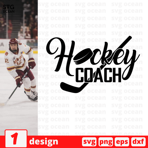Hockey coach SVG vector bundle - Svg Ocean