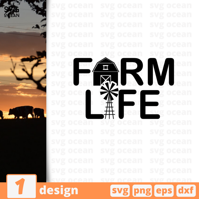 Farmlife SVG vector bundle - Svg Ocean