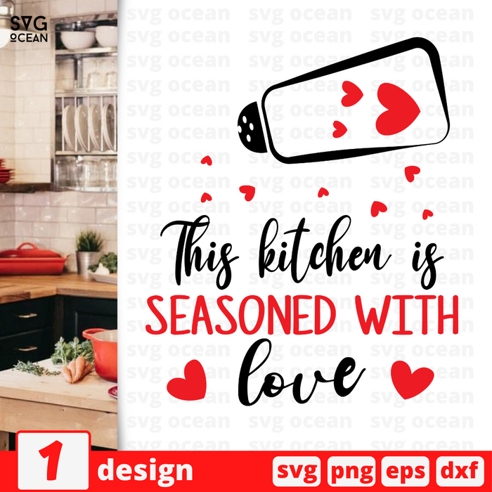 The secret ingredient is always love  SVG vector bundle - Svg Ocean