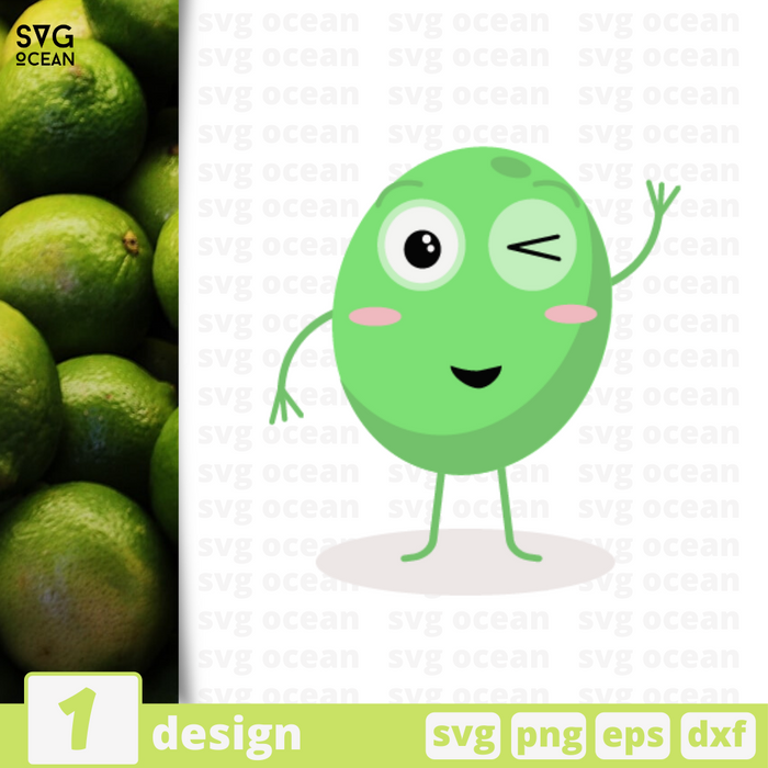 Lime SVG vector bundle - Svg Ocean