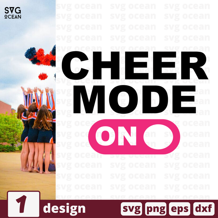 Cheer mode on SVG vector bundle - Svg Ocean