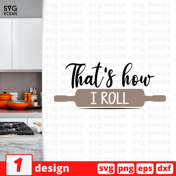That's how I roll SVG vector bundle - Svg Ocean