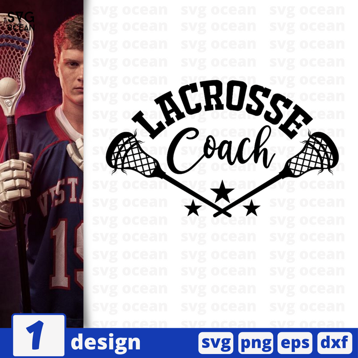 Lacrosse coach SVG vector bundle - Svg Ocean