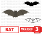 Bat SVG vector bundle - Svg Ocean