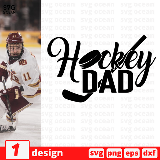 Hockey dad SVG vector bundle - Svg Ocean