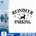 Reindeer Parking SVG vector bundle - Svg Ocean