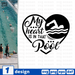 My  heart is in that Pool SVG vector bundle - Svg Ocean