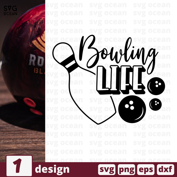 Bowling life SVG vector bundle - Svg Ocean