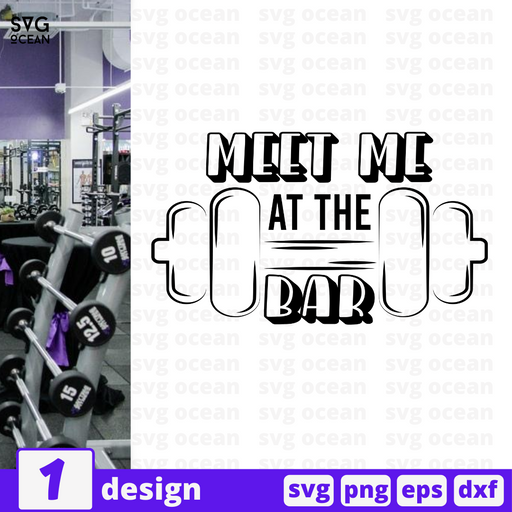 Meet me at the bar SVG vector bundle - Svg Ocean