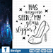 Free Shoe quote SVG printable cut file Has anyone seen my glass slipper - Svg Ocean