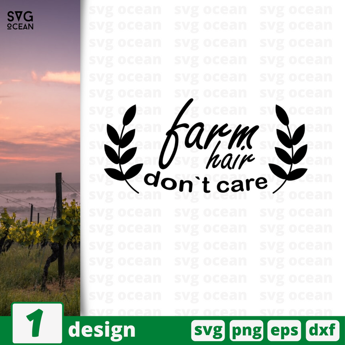 Farm hair dont care SVG vector bundle - Svg Ocean