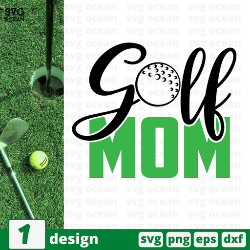 Golf mom SVG vector bundle - Svg Ocean