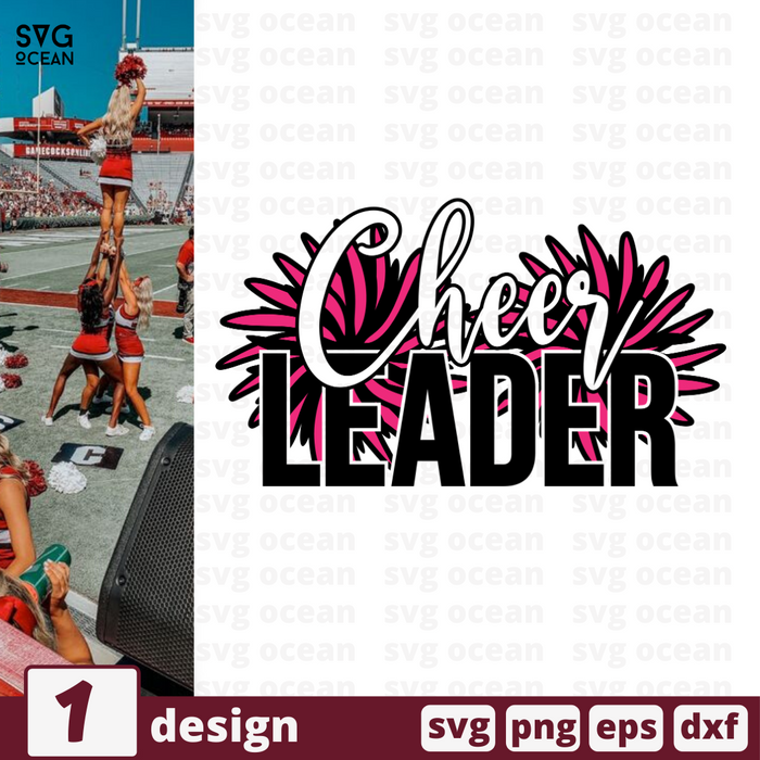 Cheer leader SVG vector bundle - Svg Ocean