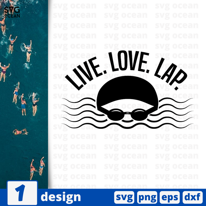 Live. Love. Lap SVG vector bundle - Svg Ocean