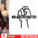 #BlackLivesMatter SVG vector bundle - Svg Ocean