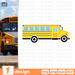 School bus SVG vector bundle - Svg Ocean