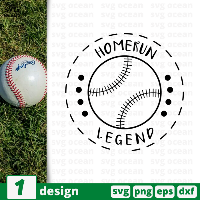 Homerun Legend SVG vector bundle - Svg Ocean
