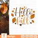 Hello fall SVG vector bundle - Svg Ocean