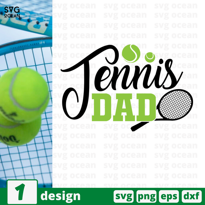 Tennis dad SVG vector bundle - Svg Ocean