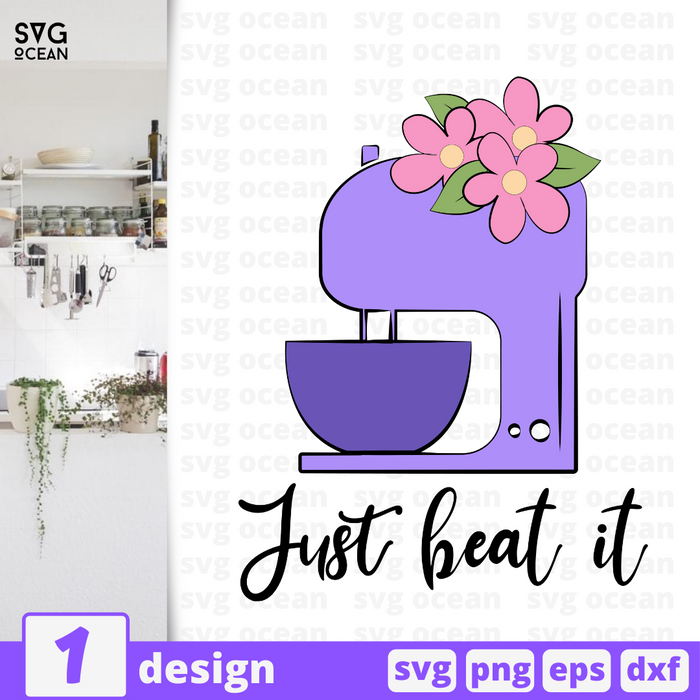 Just beat it SVG vector bundle - Svg Ocean
