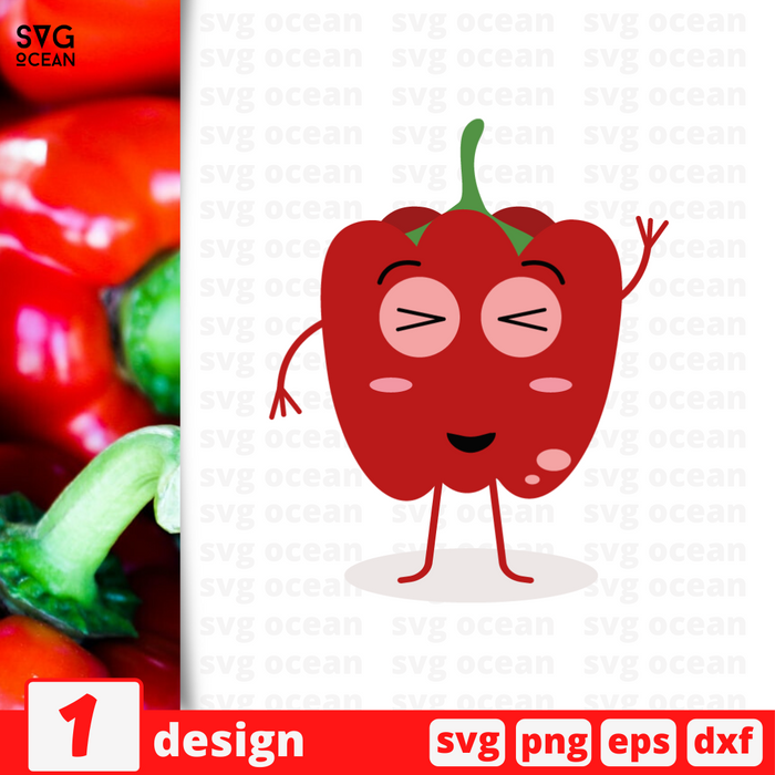 Paprika SVG vector bundle - Svg Ocean