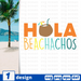 Hola beachachos SVG vector bundle - Svg Ocean
