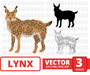 Lynx SVG vector bundle - Svg Ocean