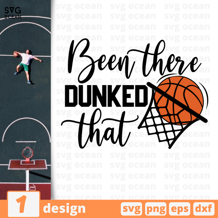 Been there dunked that SVG vector bundle - Svg Ocean