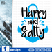 Happy and salty SVG vector bundle - Svg Ocean