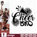 Cheer bro SVG vector bundle - Svg Ocean