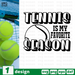 Tennis is my favorite season SVG vector bundle - Svg Ocean