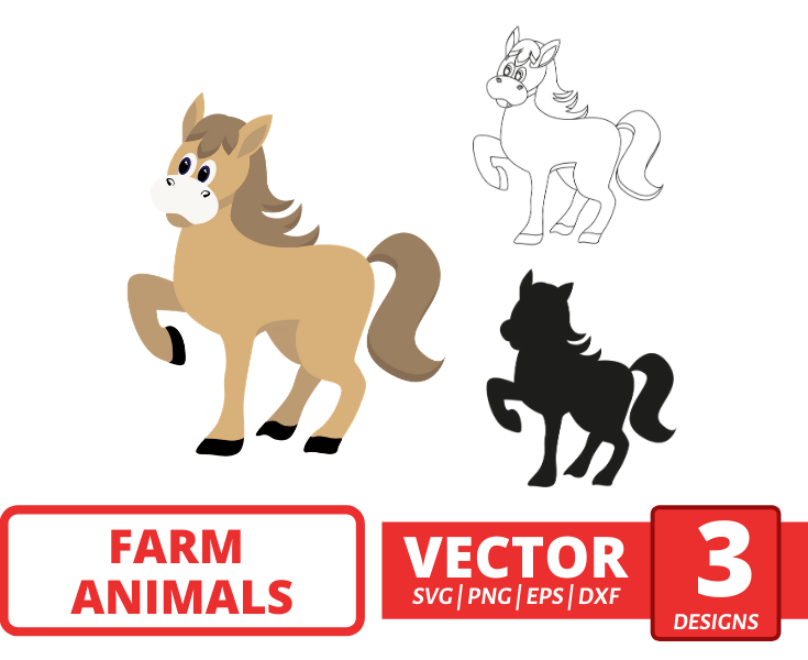 Horse SVG vector bundle - Svg Ocean