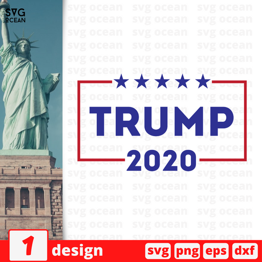 Trump 2020 SVG vector bundle - Svg Ocean