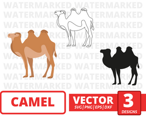 Camel  SVG vector bundle - Svg Ocean