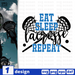 Eat sleep Lacrosse Repeat SVG vector bundle - Svg Ocean