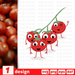 Cherry tomatoes SVG vector bundle - Svg Ocean