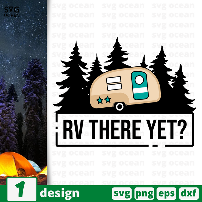 RV there yet SVG vector bundle - Svg Ocean