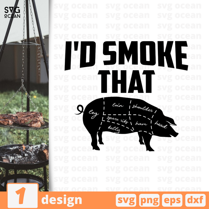 I'd smoke that SVG vector bundle - Svg Ocean