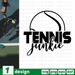 Tennis junkie SVG vector bundle - Svg Ocean