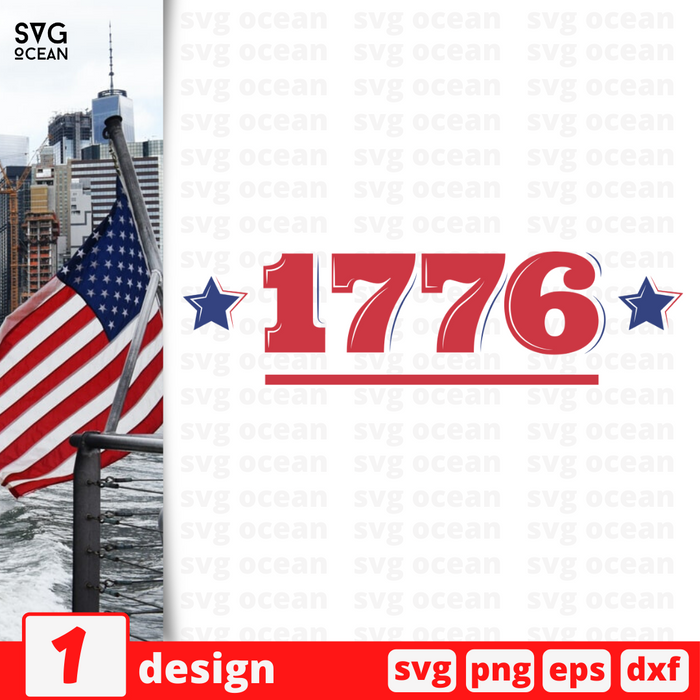 1776 SVG vector bundle - Svg Ocean